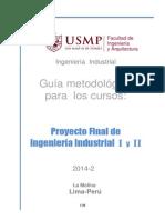 Guia Proyectos I y II V2.0 2014-2