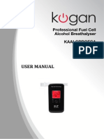 Breathalyser UserManual