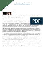 16.04.2015 Mariana Benítez experta en técnica jurídica al congreso