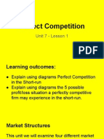 unit 7 - lesson 1 perfect competition