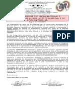 comunicado denuncia  apoyo huelga cerromatoso