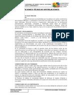 2.4.- Especificaciones Tecnicas - Instalaciones Electricas Mazo
