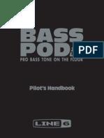 Bass PODxt Live User Manual - English ( Rev B )