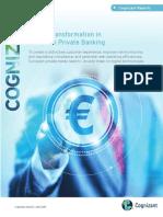 Digital Transformation in European Private Banking