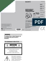 A700 Manual
