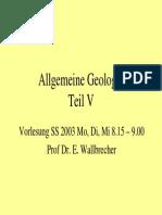 Allgemeine Geologie 5