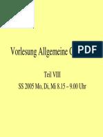 Allgemeine Geologie 8
