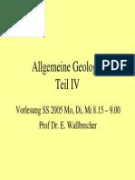 Allgemeine Geologie 4
