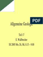 Allgemeine Geologie 17