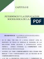 Winch y La Explicacion Sociologica de La Accion