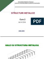 Hale cu structura metalica