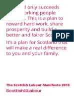Scottish Labour Manifesto2015