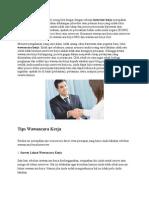 Tips Wawancara Pln