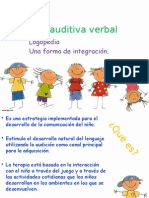 Terapia Auditiva Verbal