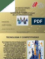 Tecnologia y Competitividad en Las Organizaciones Exposicion 3