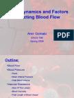 Hemodynamics and Factors Affecting Blood Flow