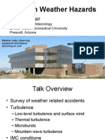 Aviation Weather Hazards