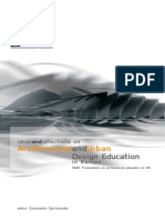 2. Architectural and Urban Design Education in Europe (Ideas and Reflections) - Constantin Spiridonidis (Editor)