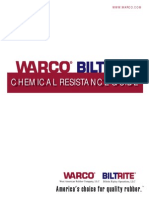 Rubber Elastomer Chemical Resistance Guide by TLARGI and WARCO BILTRITE