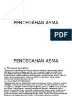 Pencegahan Asma