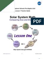 NASA Solar System Lesson