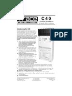 C40 Trace Manual English