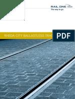 Rheda City en Ballastless Track System