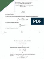 Compiti Svolti Analisi Matematica I