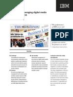 Hindu Newspaper Case Study IBM implementation