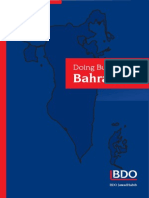 Doing Business in Bahrain Guide 2008