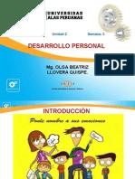 Desarrollo Personalsemana 3 Desarrollo Personal [Modo de Compatibilidad