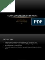 5 Complicaciones de Otitis Media
