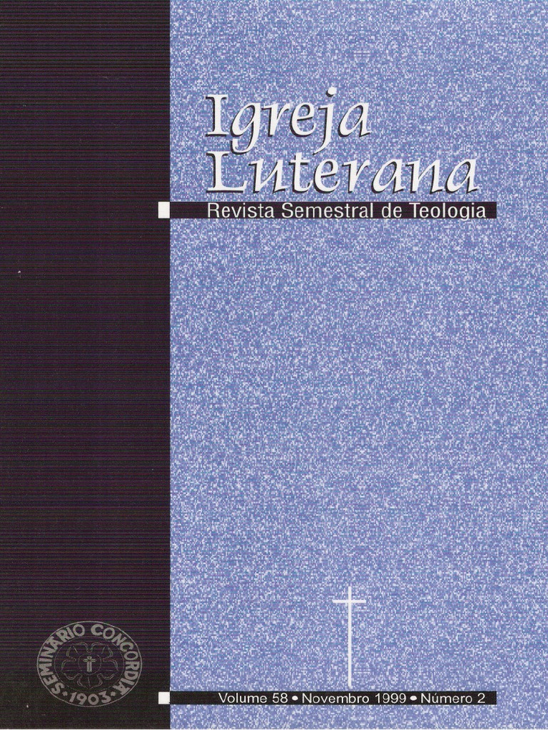 fde26a9485 Igreja Luterana 1999 nº2