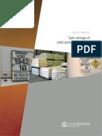 DG Storage Solid Ammonium Nitrate