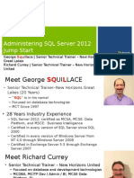 Administering Microsoft SQL Server 2012 Databases Jumpstart-Mod 1_final