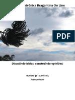 Revista Eletrônica Bragantina On Line - Abril/2015