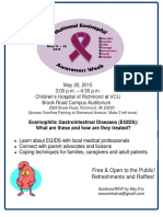 National Eosinophil Awareness Richmond 2015