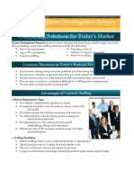 Staffing Solutions for Today's Market