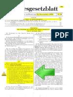 Gesetz über Errichtung und Aufgaben des Bundesrechnungshofes - Bundesgesetzblatt 29 November 1950