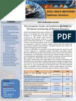 Egu 2015 Beyond Newsletter Spm1.4 2.0