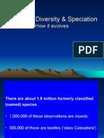 Biodiversity and Biopolitics Presentation - Speciation