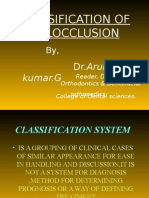 Copy of Classification of Malocclusion