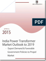 Future Outlook 2019 India Power Transformer Sector