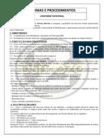 Normas e Procedimentos Uniformes