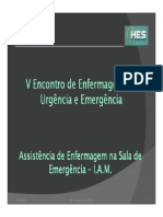 Assistencia de Enf Iam