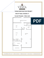 Victorian Restoration Project - 640 22nd Street Floorplan