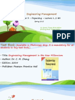 My Engg Management Chapter 3
