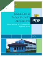 Reglamento de Evaluación República 2014