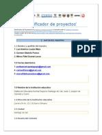 Planificador de Proyecto - Plantilla . Luz America