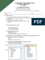 Evaluación i b II q 2014 3er c Bach Aic Jvb